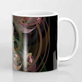 Abstract Fractal Spiral Coffee Mug