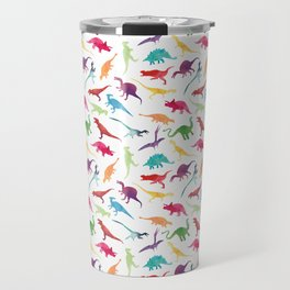 Watercolour Dinosaurs Travel Mug