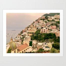 Amalfi Coast — Positano, Italy Art Print