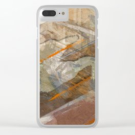 Society X Clear iPhone Case