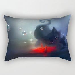 Faithful Mirror Rectangular Pillow