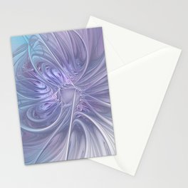 elegant flames on texture Stationery Cards