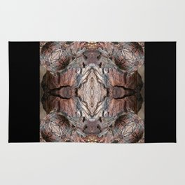 Petrified wood in abstract ... Rug