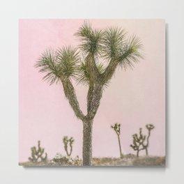 Joshua Tree iii - Surreal Desert Set Metal Print
