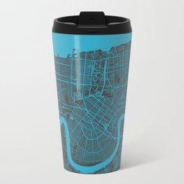 New Orleans Map Travel Mug