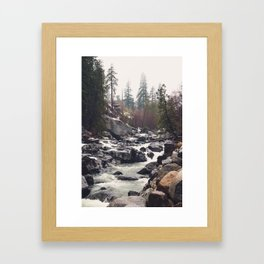 Morning Mountain Escape - Nature Photography Framed Art Print