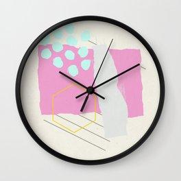 Fragments Wall Clock