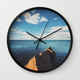 Sandstone Point Wall Clock