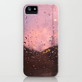 Rain iPhone Case