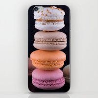 macaroons iPhone & iPod Skins featuring Macaroons  by Michael P. Moriarty