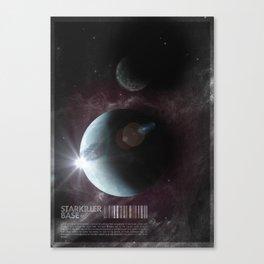 Starkiller Base Canvas Print