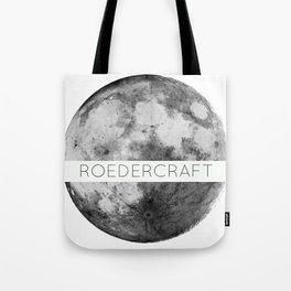 ROEDERcraft Moon Logo Tote Bag
