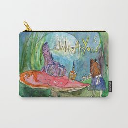 Alice and the Caterpillar Carry-All Pouch