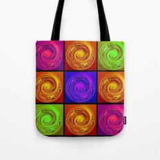 Abstract Collage Art Tote Bag