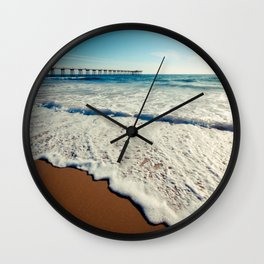 Hermosa Beach Pier Wall Clock