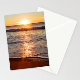Sunset on the Big Blue Stationery Cards