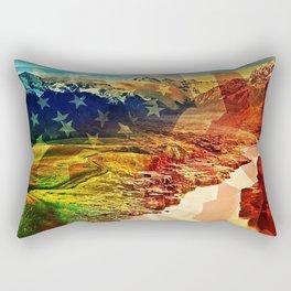 Spacious Skies Rectangular Pillow