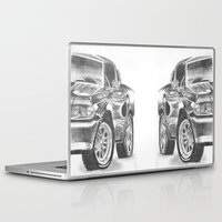 mustang Laptop & iPad Skins featuring Mustang by WNN Creations