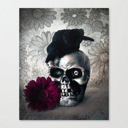 Skull Mischief Canvas Print