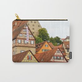 Traditional medieval German houses Carry-All Pouch