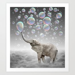 The Simple Things Are the Most Extraordinary (Elephant-Size Dreams) Art Print