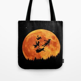 Take Me To Neverland Tote Bag