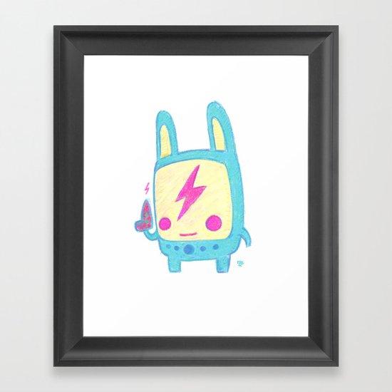 Baby Lemi the Space Wanderer Framed Art Print