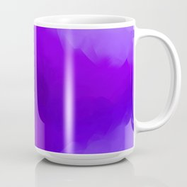 Dreamy Lavender Indigo Clouds Abstract Coffee Mug