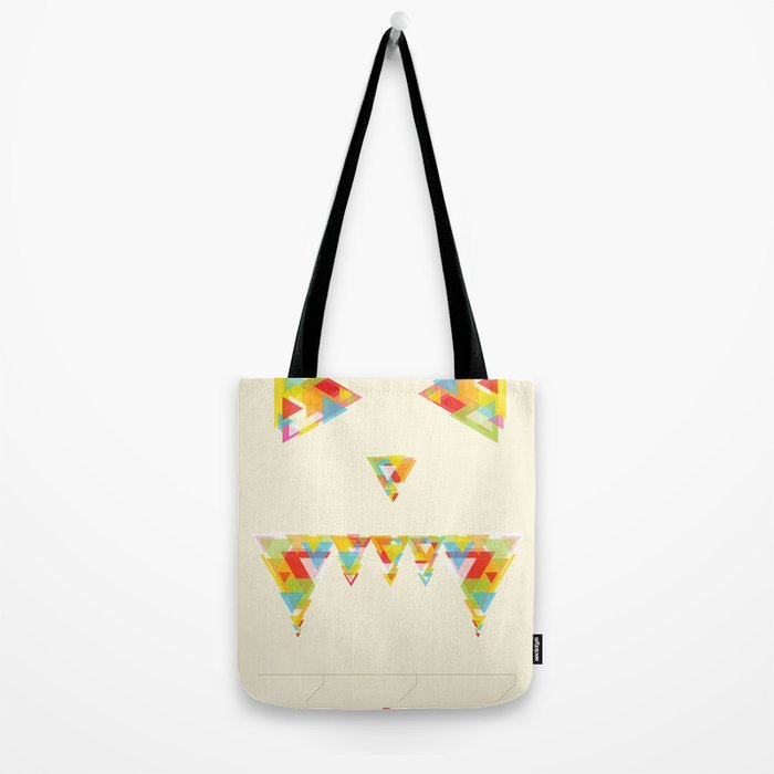 Monster Chaos Tote Bag
