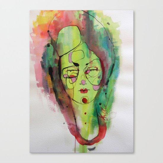 Suspicious  Canvas Print