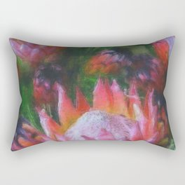 Big Protea Botanical Flowers The Three Kings Rectangular Pillow