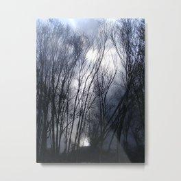 Creepy Grove Metal Print