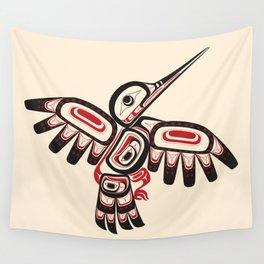 Salish Coast Humming Bird Wall Tapestry