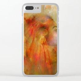 Native American Clear iPhone Case