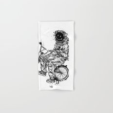 Void in Space (Blk) Hand & Bath Towel