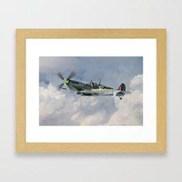 Spitfire - WC Johnnie Johnson Framed Art Print