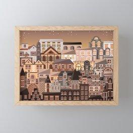 Moonlight Homes Framed Mini Art Print