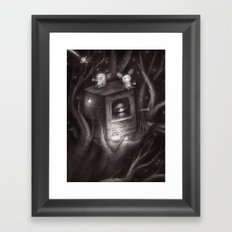 Star Belly and the Big Crunch Spread 1 Framed Art Print