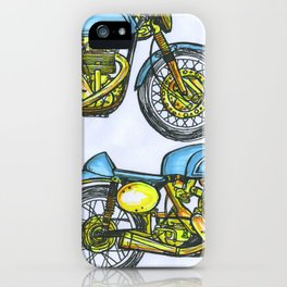 BMW R80 Cafe Motorcycle  iPhone Case