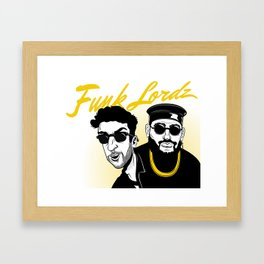 Funk Lordz Framed Art Print