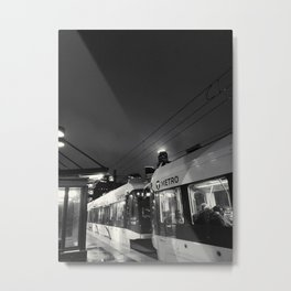 Not Quite The Midnight Train Metal Print
