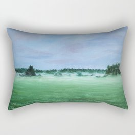 Midsummer night Rectangular Pillow