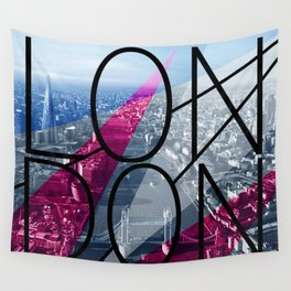London 3 Wall Tapestry