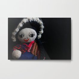 South American Doll Metal Print