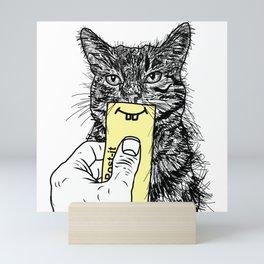 Being Framed Mini Art Print