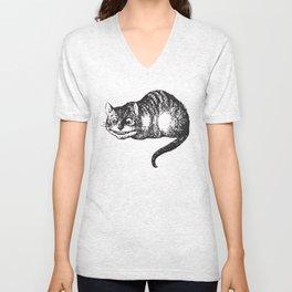 Cheshire Cat - Alice in wonderland Unisex V-Neck