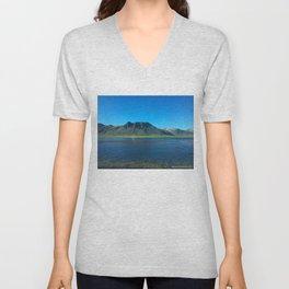 Icelandic nature Unisex V-Neck