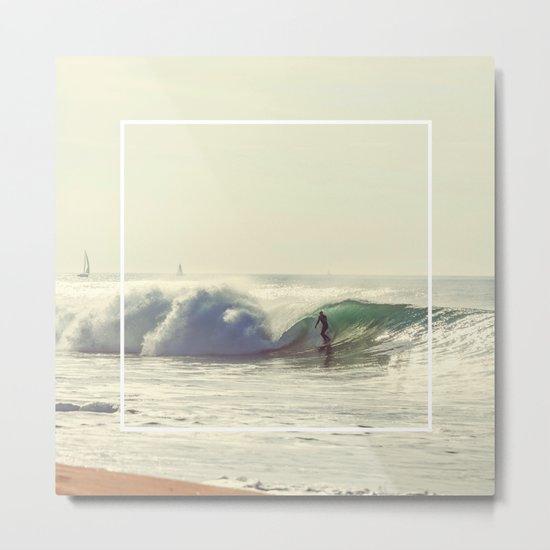 Great wave Metal Print