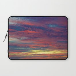 Cotton Candy coloured sky Laptop Sleeve