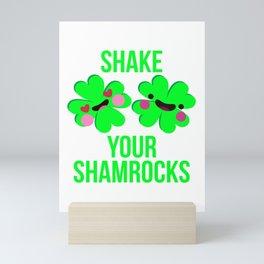 Shake Your Shamrocks St. Patrick's Day Parade Mini Art Print